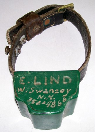 Dog Training Collar Owned/Used By Winchester Shooter Ernie Lind