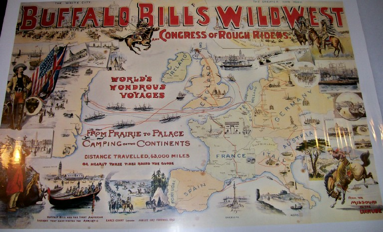 Buffalo Bill Wild West & Congress Of Rough Riders Poster--Europe