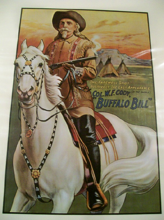 Farewell Shot - Buffalo Bill's Last Appearance Poster