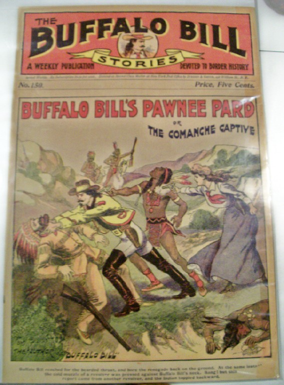 Buffalo Bill Pulp Fiction Novel Cover Poster