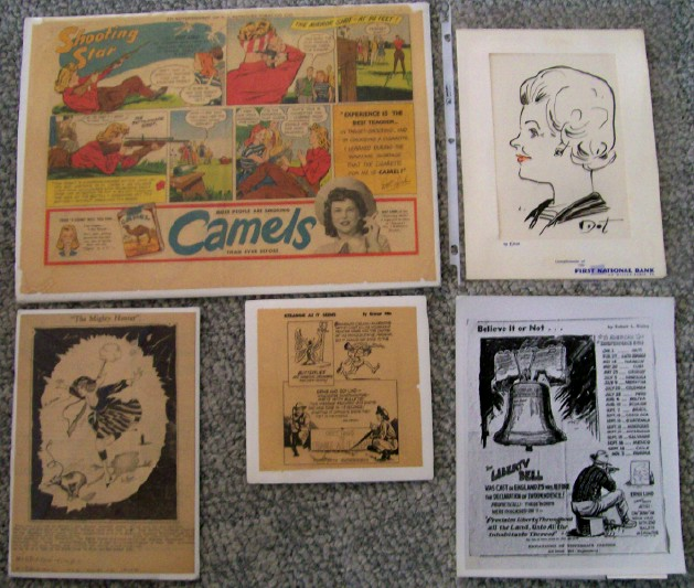 Winchester Exhibition Shooters Dot & Ernie Lind Advertising Lot