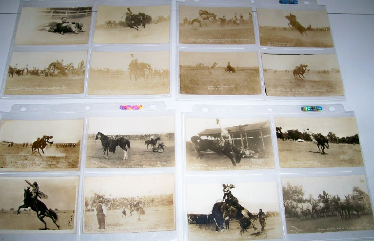 16 Real Photo Rodeo Postcards - 1911-1919