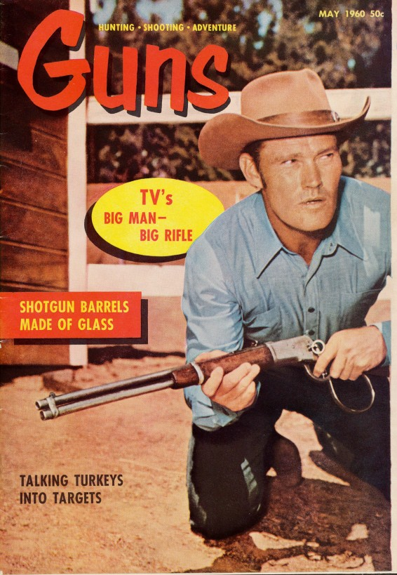 1960 Chuck Connors TV's Rifleman Magazine Cover Feature
