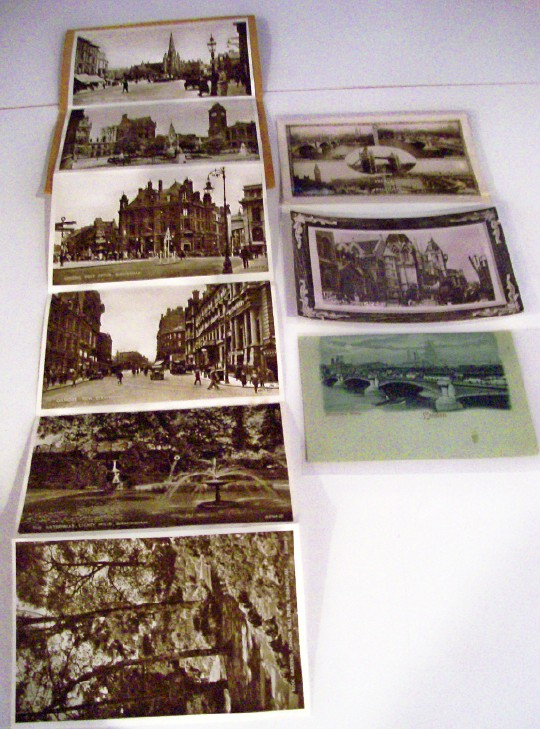 Early Postcard Lot From Birmingham & London - England