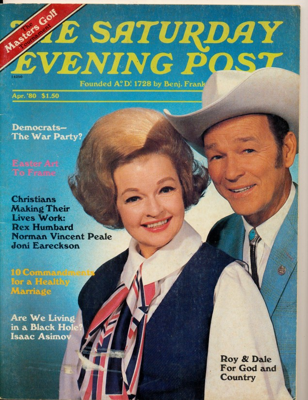 Two Vintage Magazines With Roy Rogers Cover Features