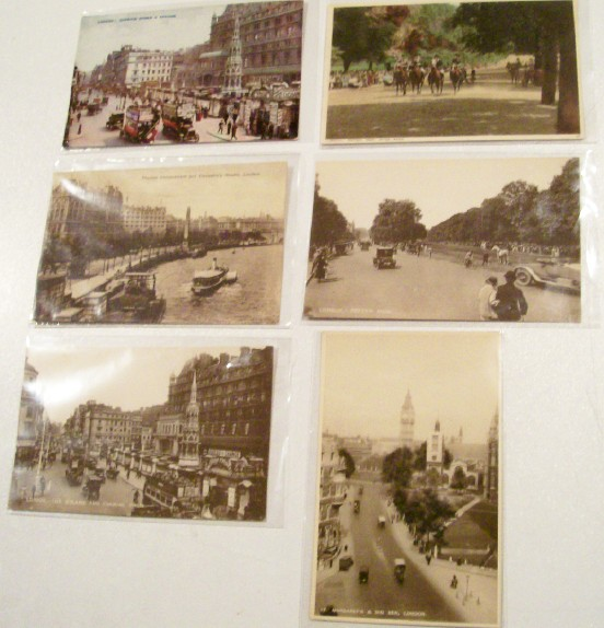 6 Great Postcards From London In The 1920s & 1930s