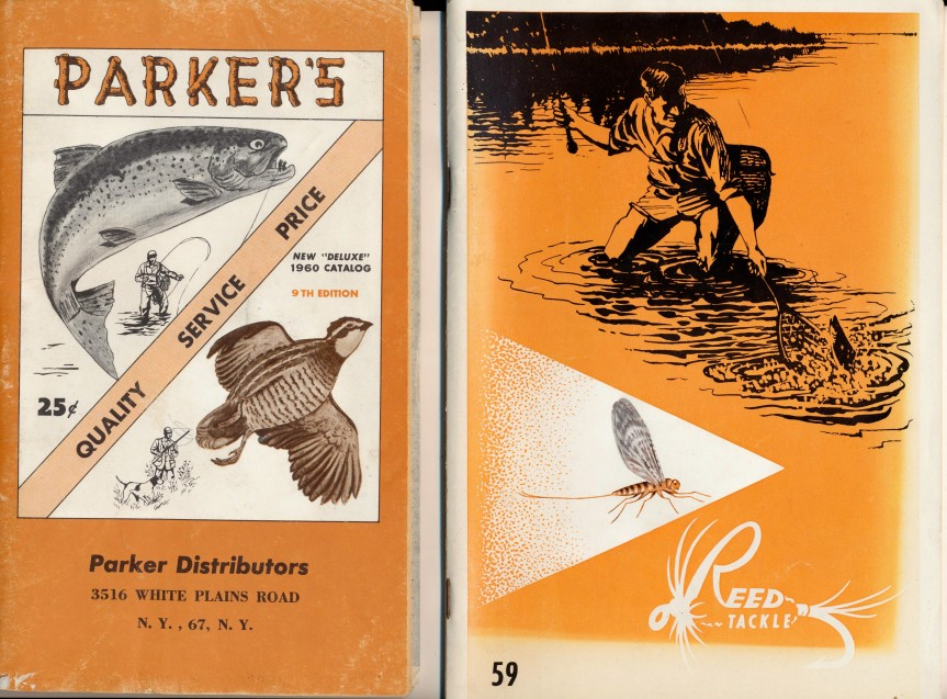1960 Parker Gun/Hunting Catalog + 1959 Fishing Tackle Catalog