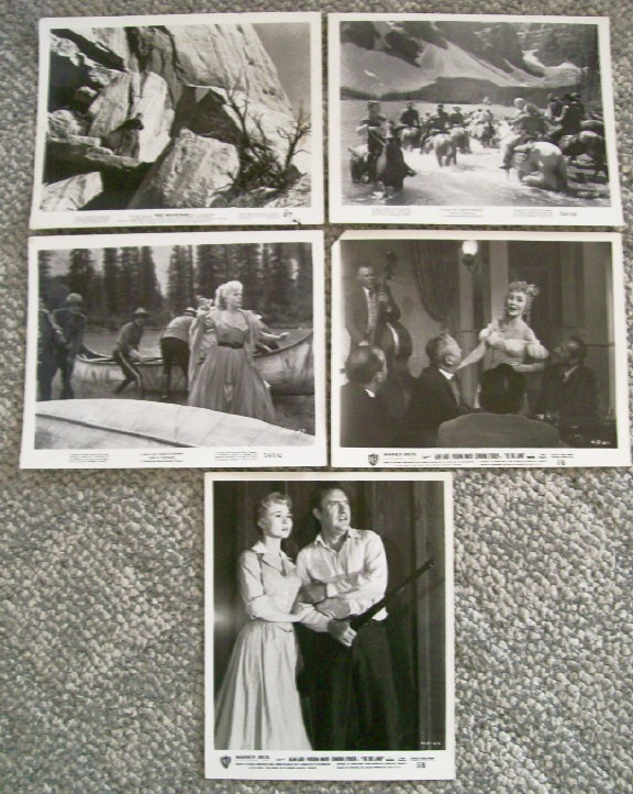 Lot Of 5 Alan Ladd 1950s Western Movie Stills