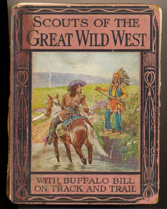 Buffalo Bill-Texas Jack-Wild Bill Hickok Bios Illustr By Prowse