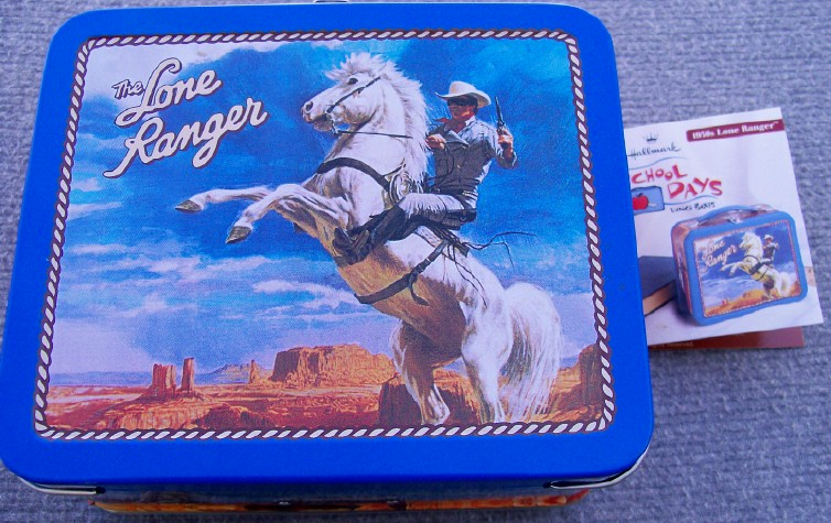 Lone Ranger Tin Lunch Box - 75% Replica - NWT