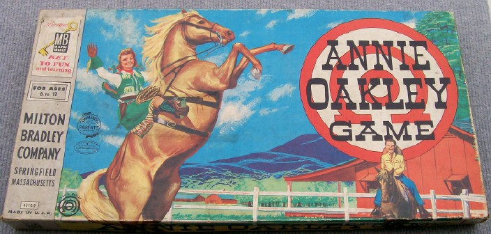 Annie Oakley Board Game
