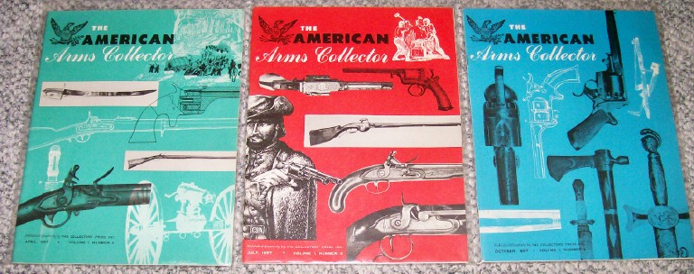 Lot Of 1950s American Arms Collector Magazines