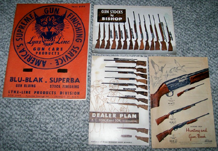 Mixed Lot Of 1950s Gun Catalogs