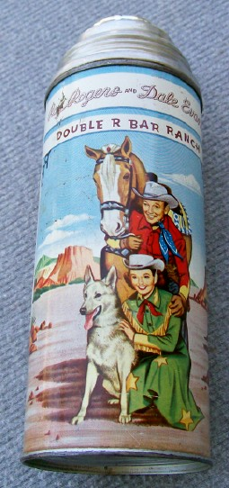 Vintage Roy Rogers Lunchbox Thermos