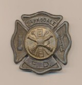 Barksdale Fire Department Badge - Louisiana Air Force Base