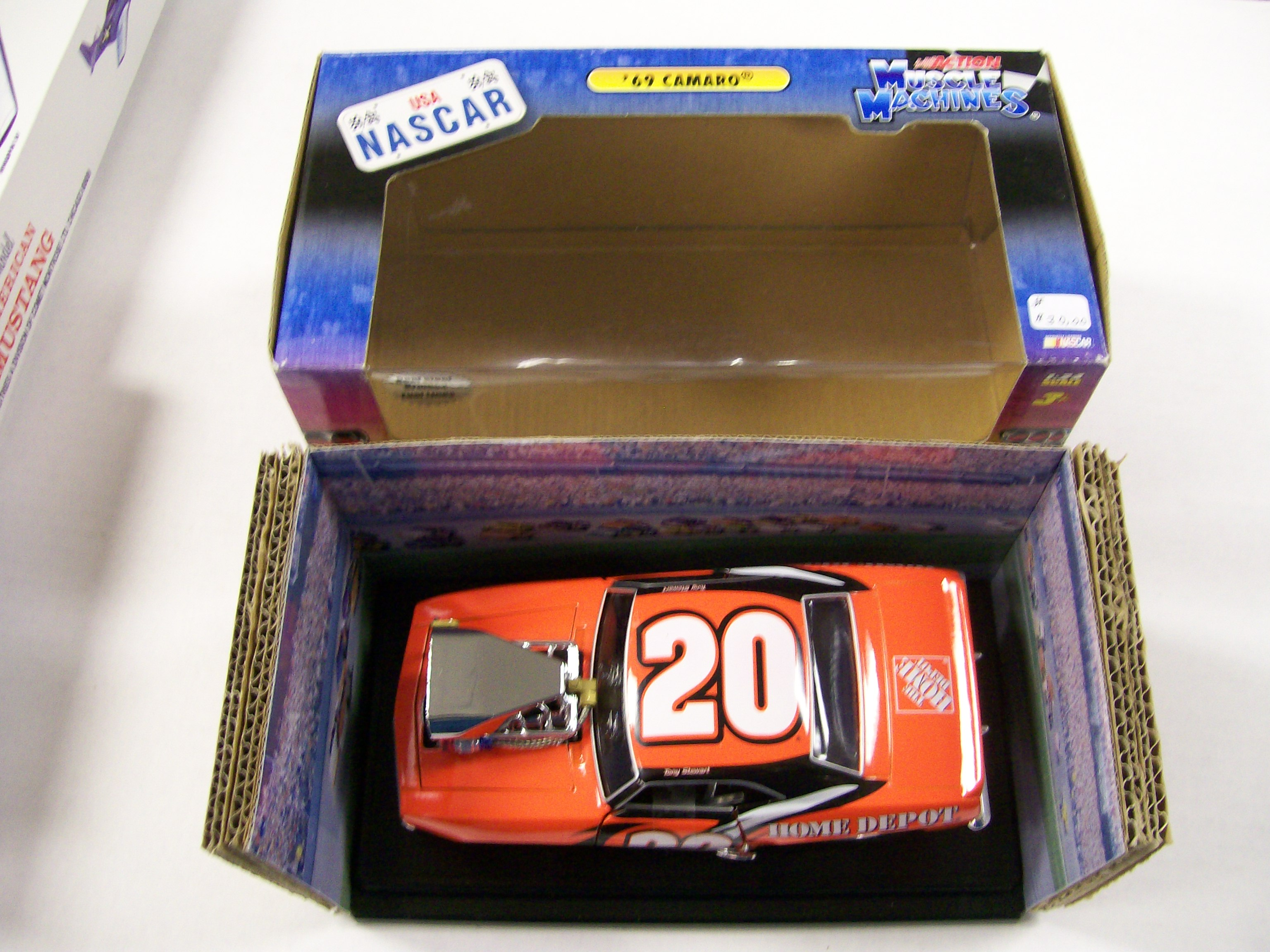 1969 Camaro Nascar Action Tony Stewart 1/24 scale 2004