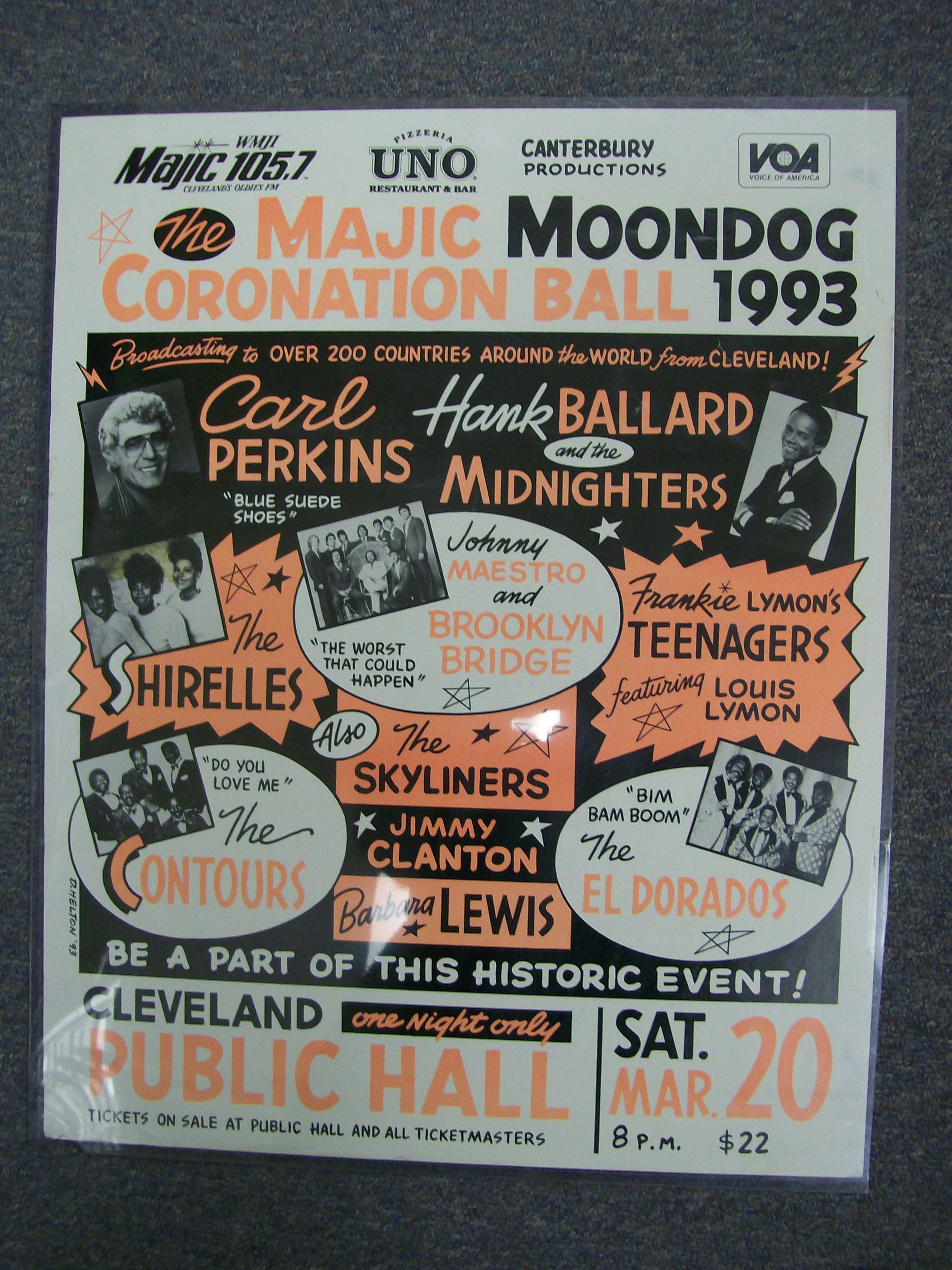 Majic Moondog Coronation Ball 1993 Cleveland Public Hall