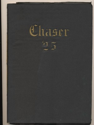 1925 Chaser - Chevy Chase School Yearbook - Washington DC
