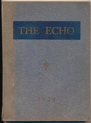 1929 Echo - Brookfield High School Yearbook - Brookfield OH
