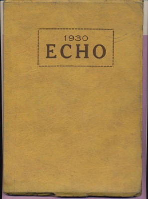 1930 Echo - Brookfield High School Yearbook - Brookfield OH