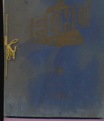 1931 Echo - Brookfield High School Yearbook - Brookfield OH