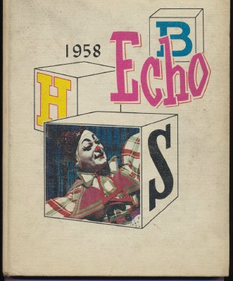 1958 Echo - Brookfield High School Yearbook - Brookfield OH