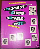 1959 Biggest Show Of Rock & Roll Stars Concert Program