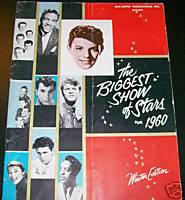 1960 Biggest Show Of Rock & Roll Stars Concert Program