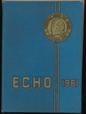 1961 Echo - Brookfield High School Yearbook - Brookfield OH