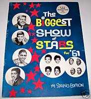 1961 Biggest Show Of Stars Rock & Roll Program - Spring