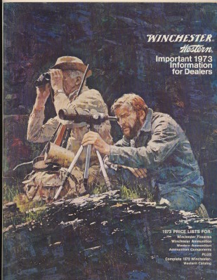 1973 Winchester Western Dealer Catalog With Price Lists