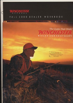 2004 Winchester Gun Catalog + 2000 Winchester Clothing Catalog