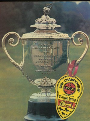 1973 55th PGA Championship Golf Tournament Program