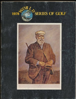 1978 World Series Of Golf Program
