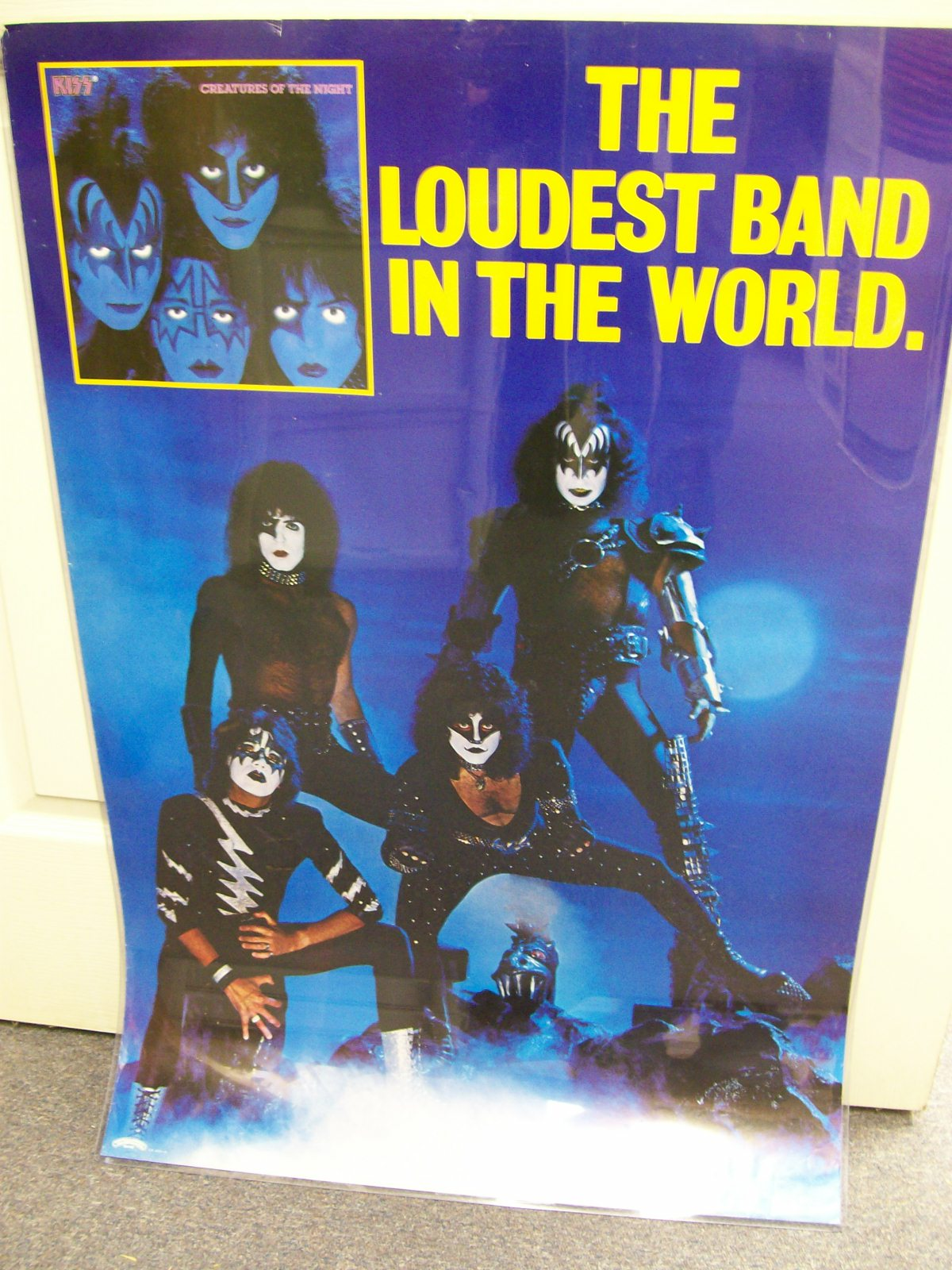 KISS CREATURES OF THE KNIGHT LOUDEST BAND IN THE WORLD POSTER