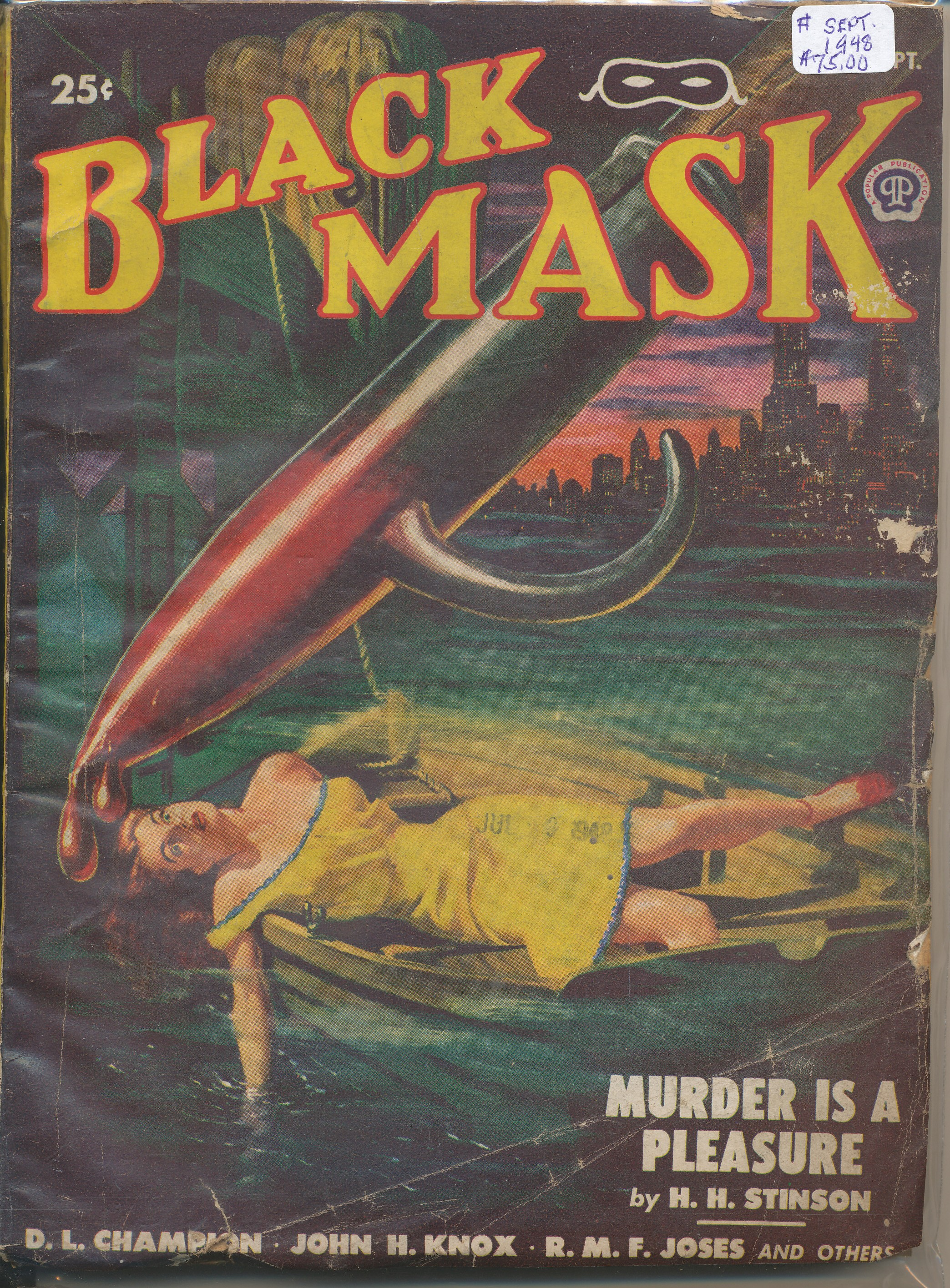 September 1948 Black Mask pulps
