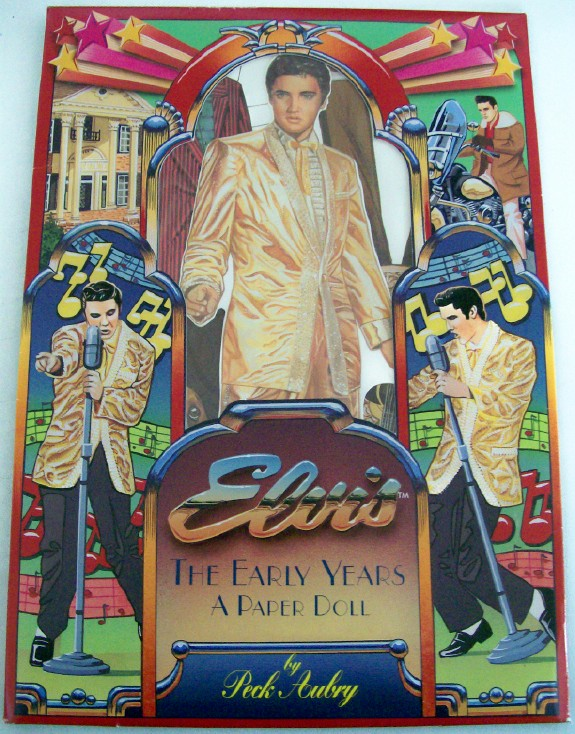 Elvis Presley Early Years Paper Doll Set -Actual Outfits-Uncut