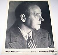 Eugene Ormandy Conductor 1930s Original RCA Promo Photo