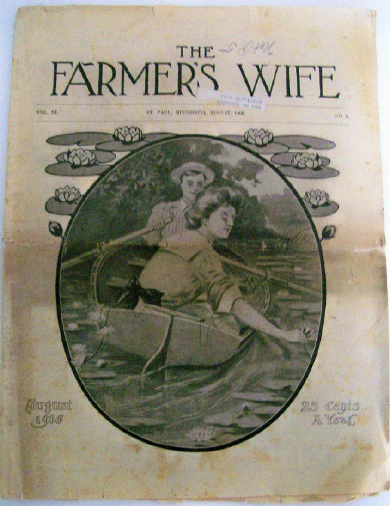 August 1906 Farmer's Wife - Early Women's Magazine