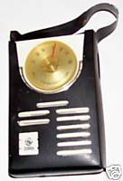 Vintage General Electric Transistor Radio With Case Model P1711C