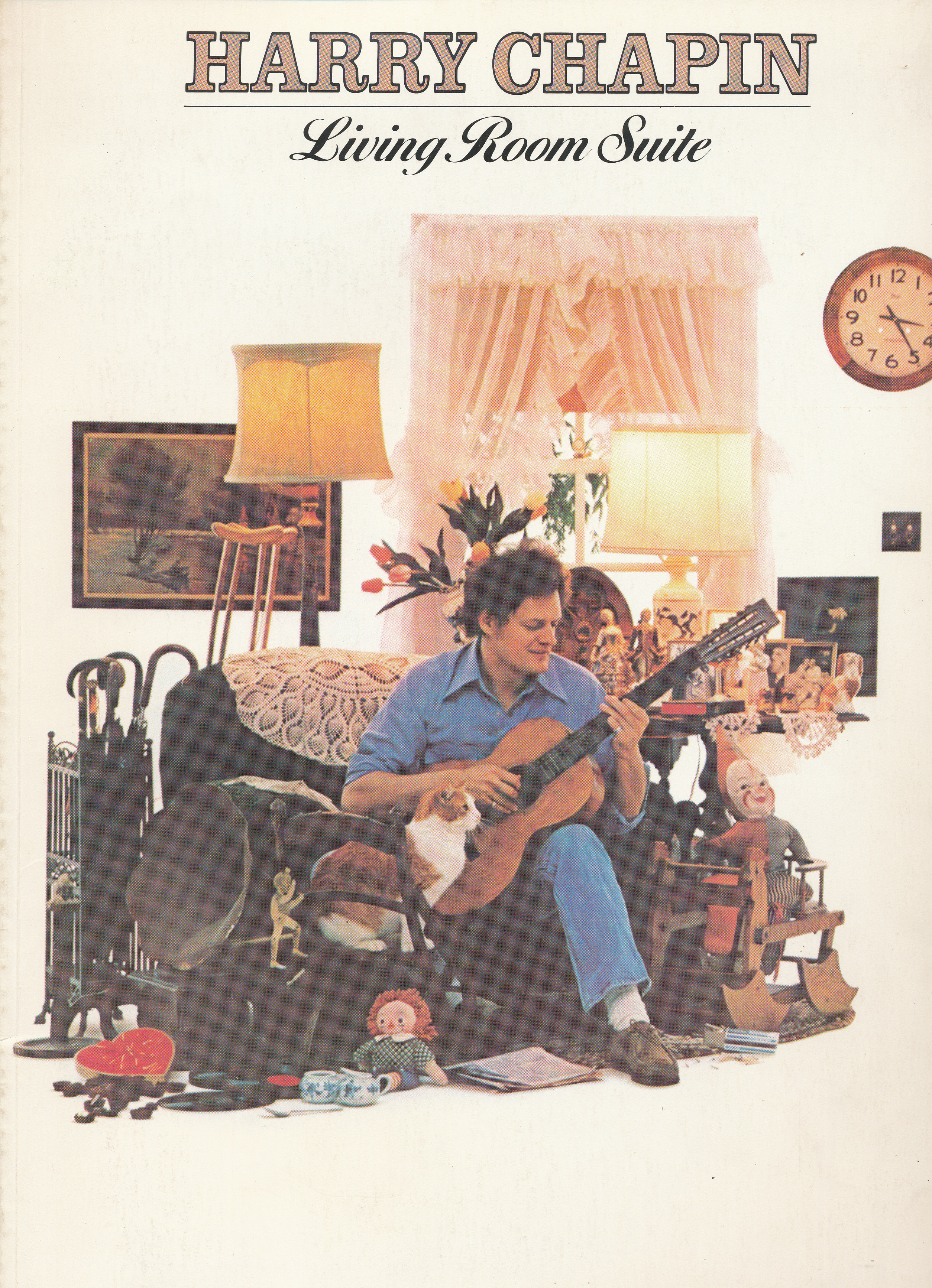 Harry Chapin Living Room Suite Song Book