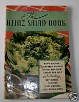 1933 Heinz Advertising Salad Book With Great Product Pictures
