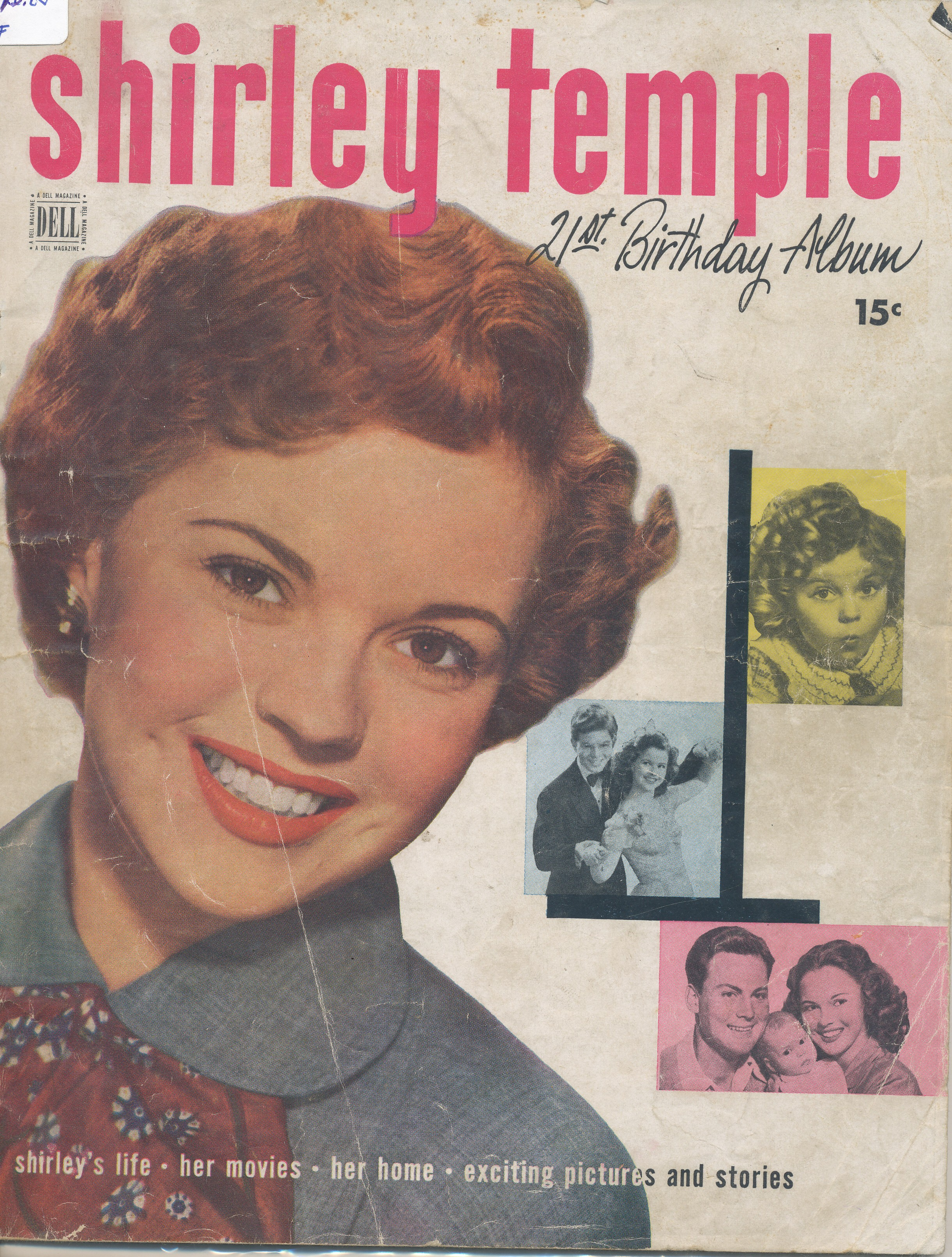 Shirley Temple 21st Birthday Album 1949