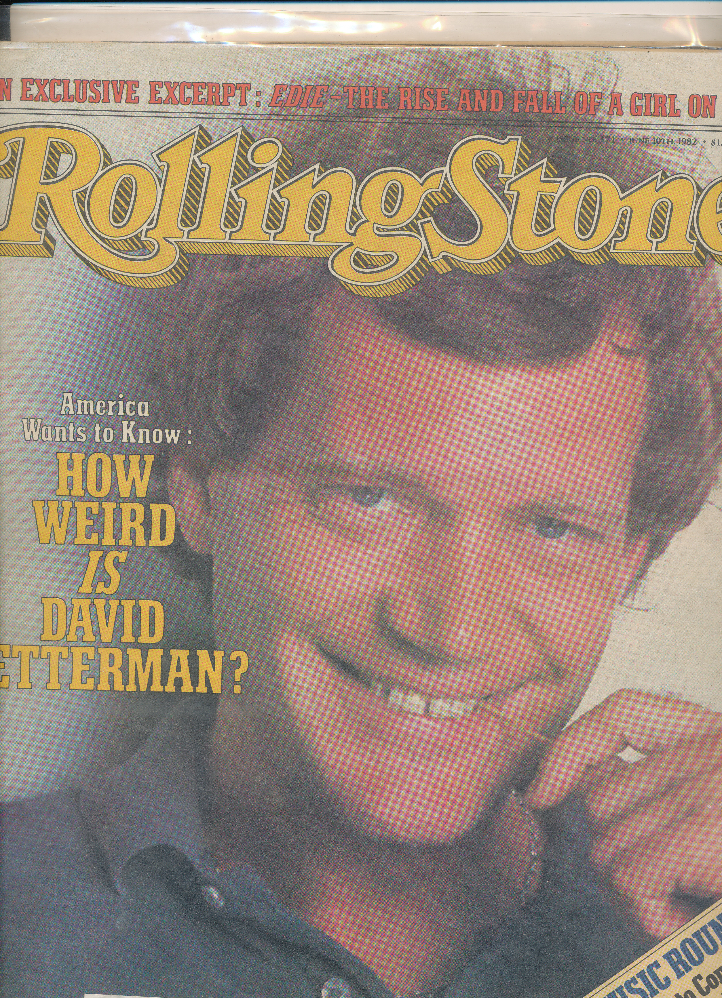 Rolling Stone - How Weird is David Letterman?