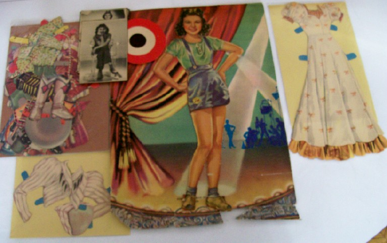 1940s Jane Withers Paper Doll Set - Child Star & Josephine