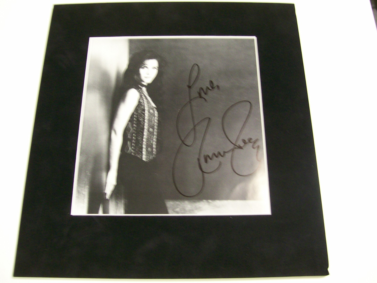 Jennie Seeley Early Autographed Photo From Her Museum in Pa.