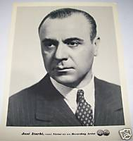 Jose Iturbi Pianist 1930s Original RCA Promo Photo