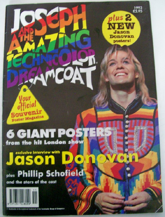 1993 Joseph & The Amazing Technicolor Dreamcoat Poster Collectio