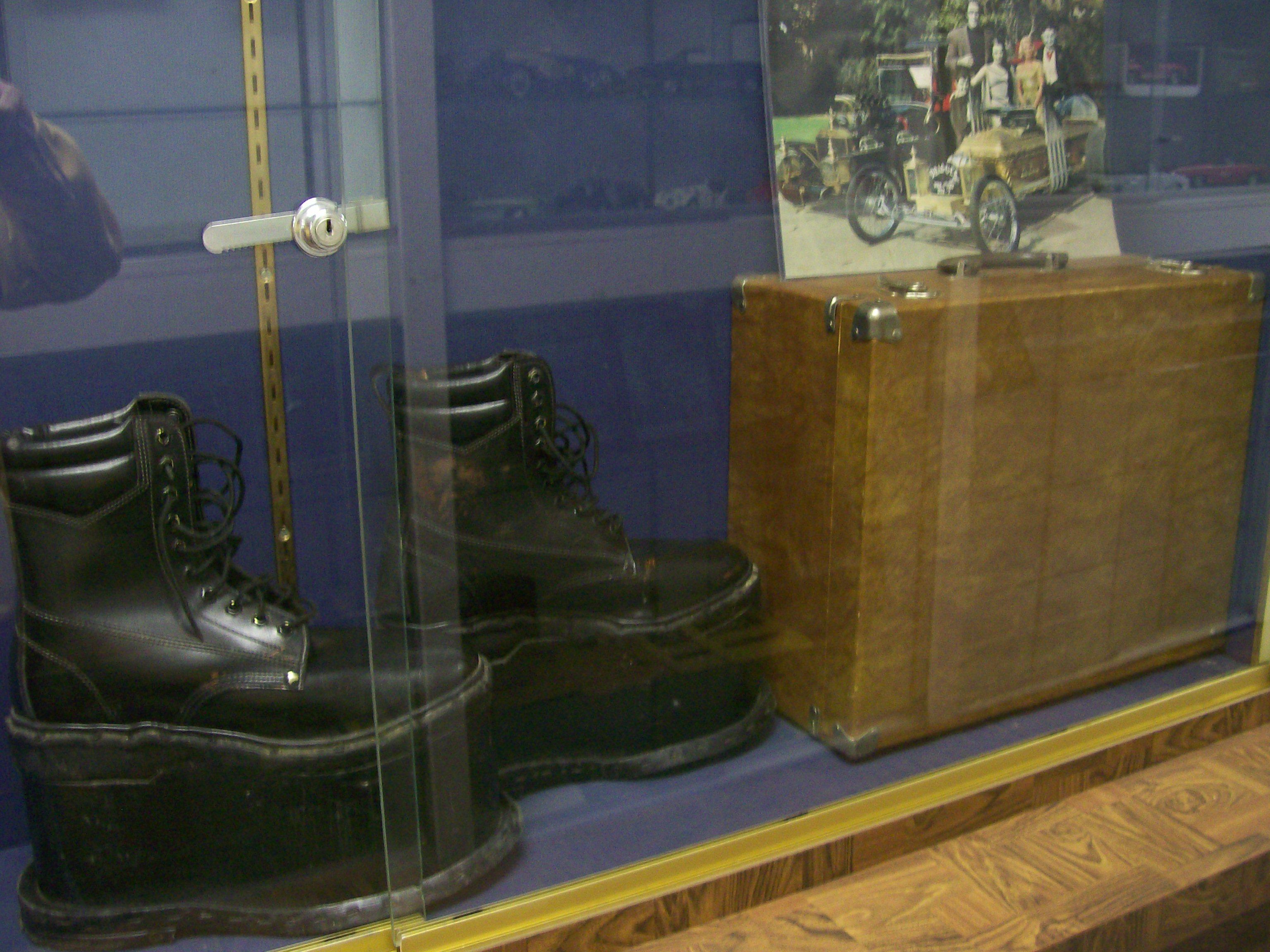 Herman Munster's Platform Shoes From The Munsters T.V. Show