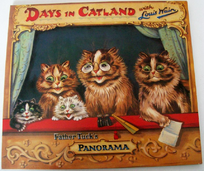 Days In Catland By Louis Wain Father Tuck's Panorama